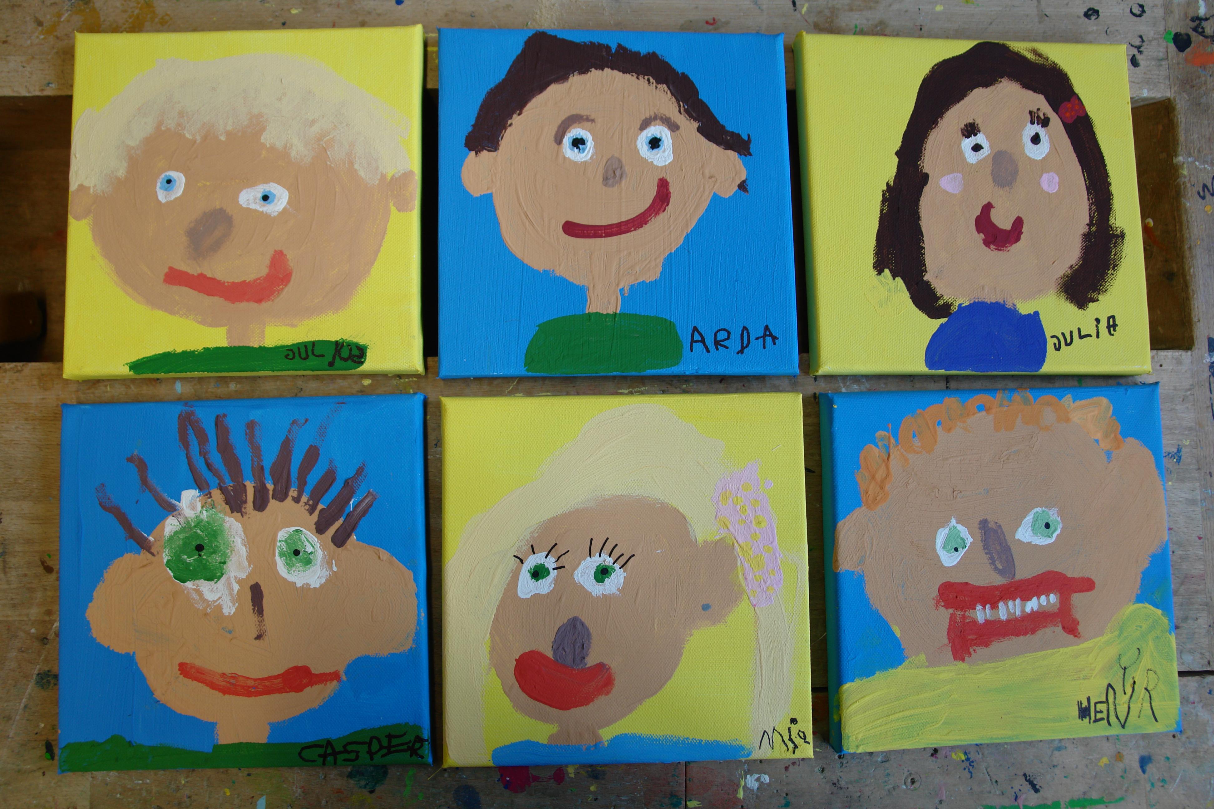 Vorschularbeit – Kindertagesstätte Blaues Haus